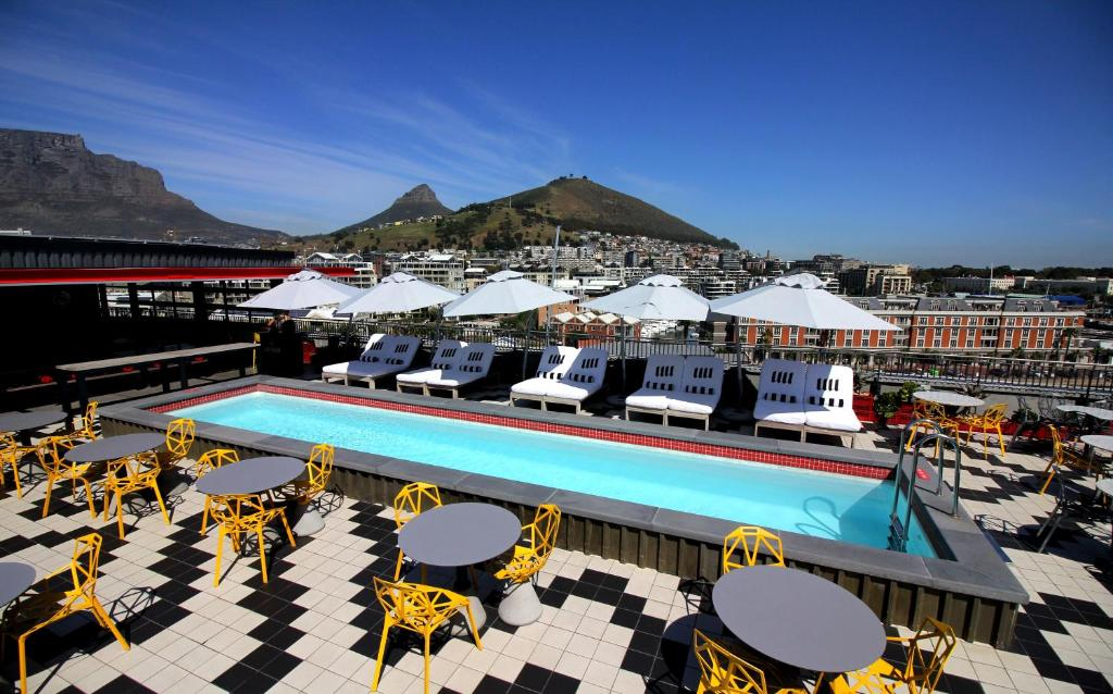 A view of the pool at Radisson RED Hotel V&A Waterfront Cape Town or nearby