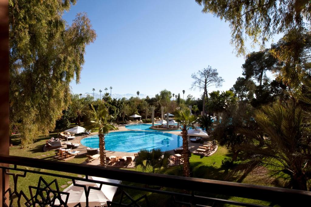 A view of the pool at Es Saadi Marrakech Resort - Palace or nearby