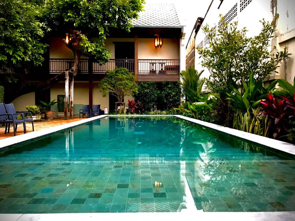 Piscina di Villa Phra Sumen Bangkok o nelle vicinanze