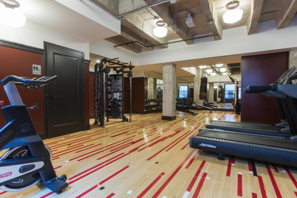 The fitness center and/or fitness facilities at Ace Hotel Downtown Los Angeles