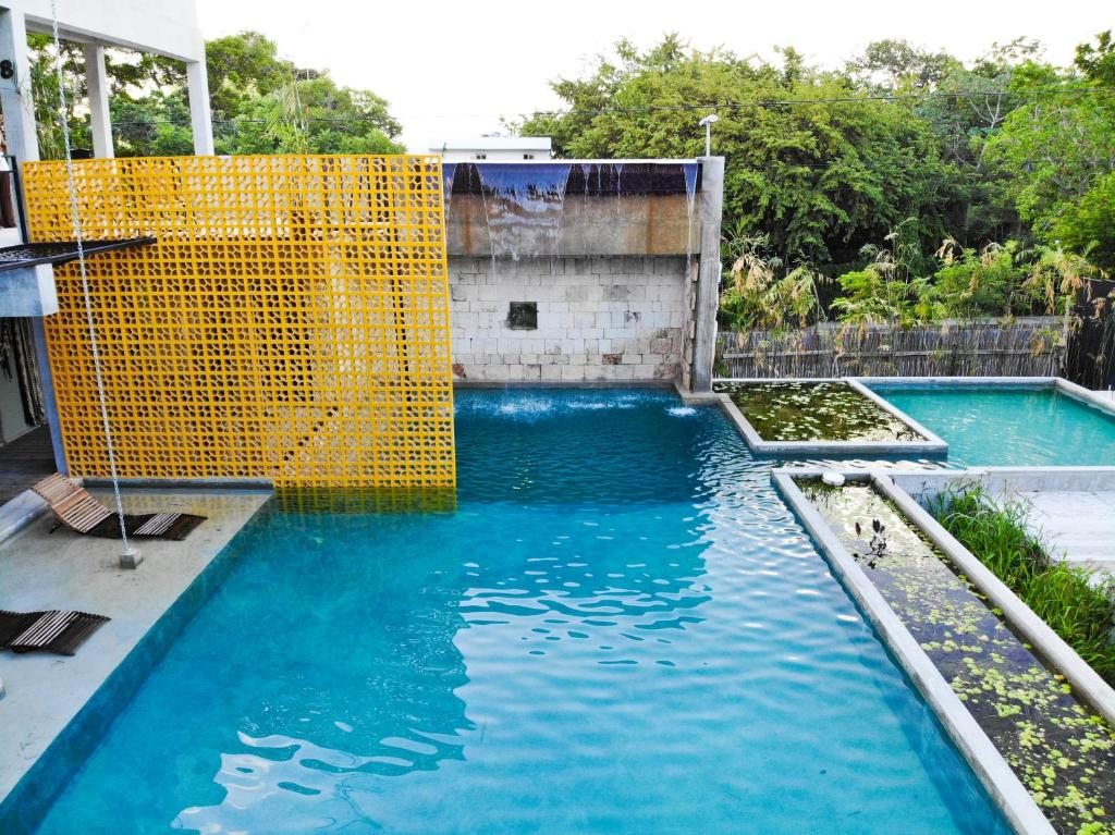The swimming pool at or near Hotel Makaabá Eco-Boutique