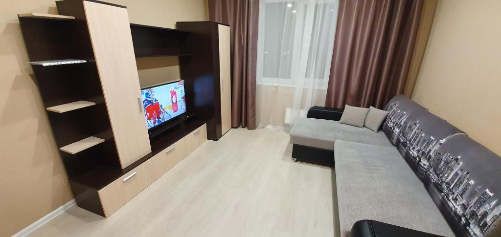 Телевизор и/или развлекательный центр в Apartment on Bondarenko