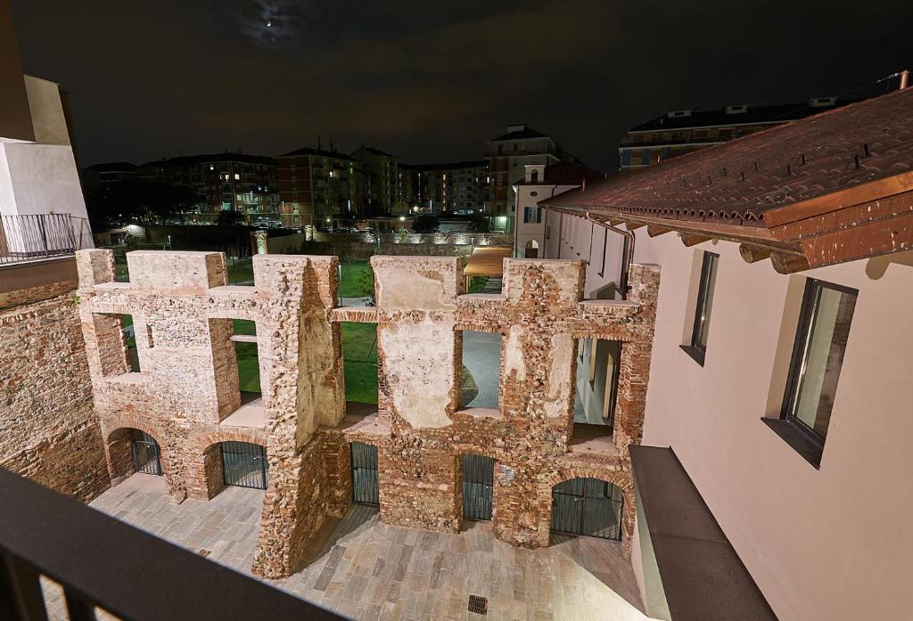 A bird's-eye view of Hotel Cascina Fossata & Residence
