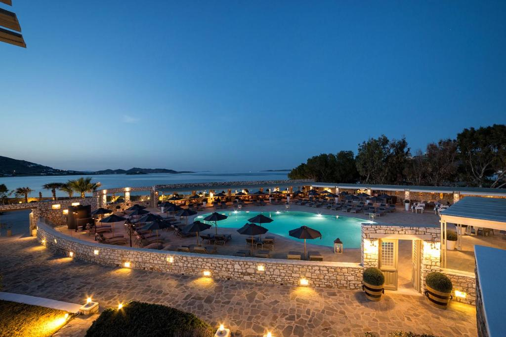A view of the pool at Saint Andrea Resort Hotel or nearby