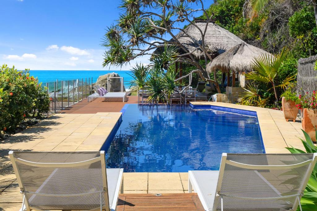 The swimming pool at or near Liapari Beach House
