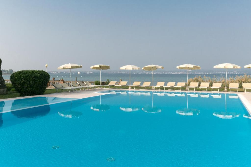 The swimming pool at or near Hotel Marolda