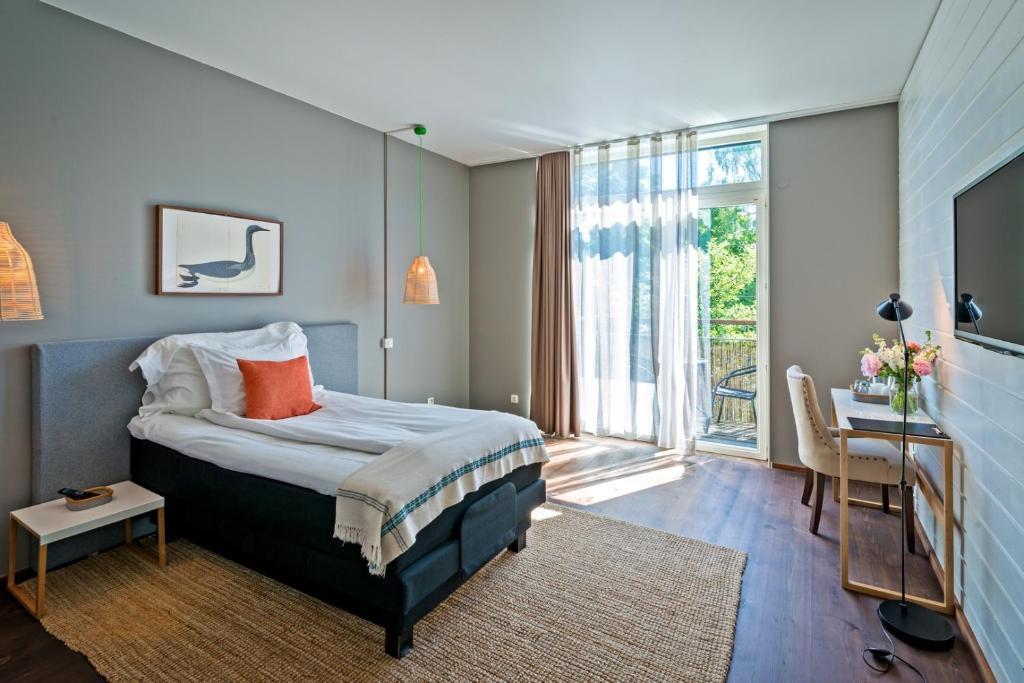 Säng eller sängar i ett rum på Hotel no. 16