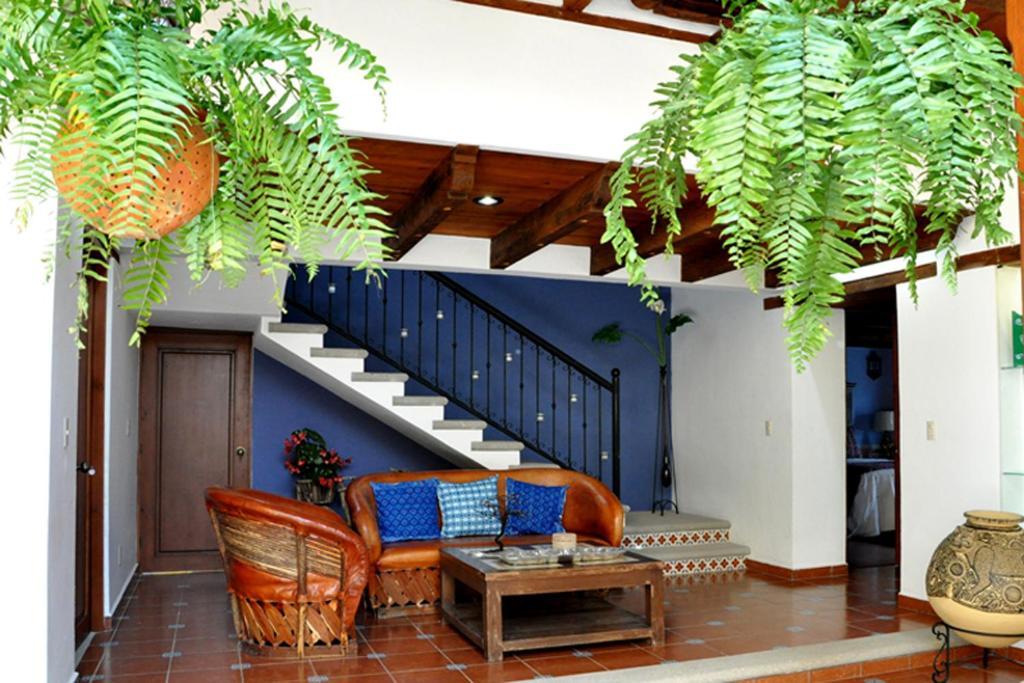 Zona de estar de Casa Santa Lucia