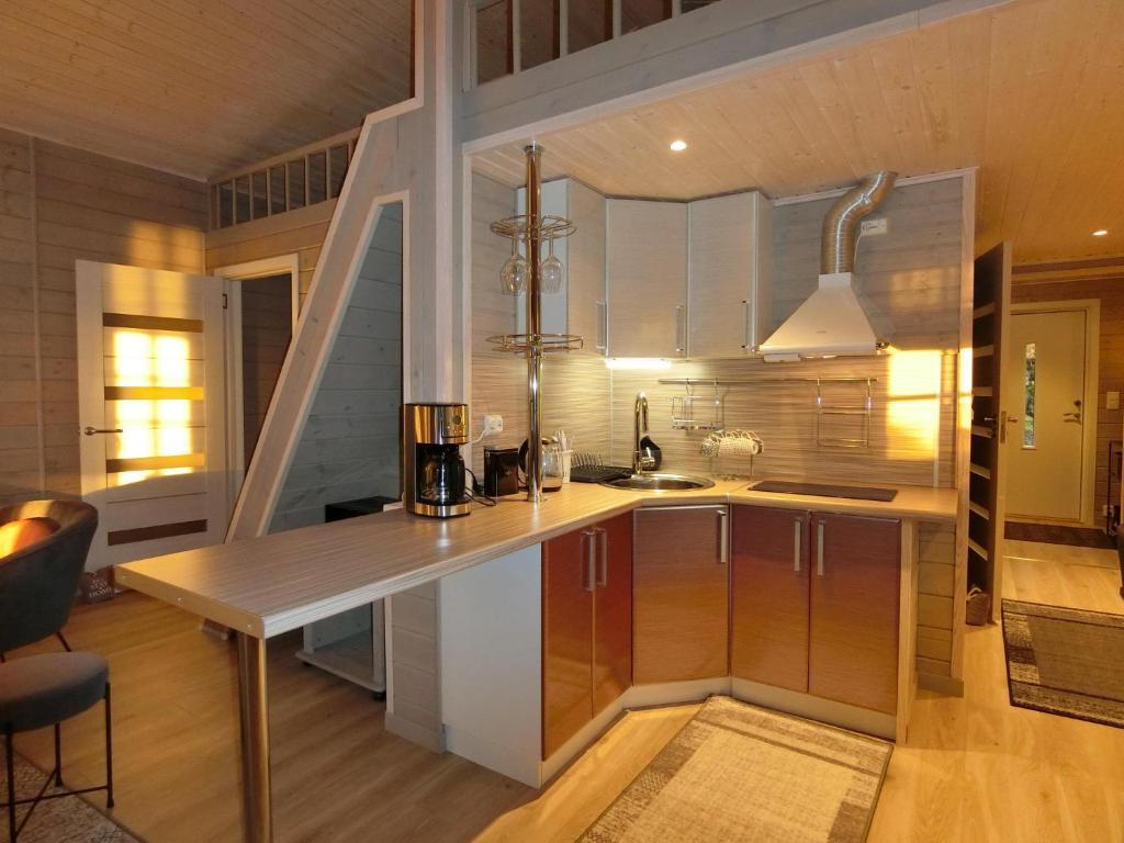 Кухня или мини-кухня в Sydalen house