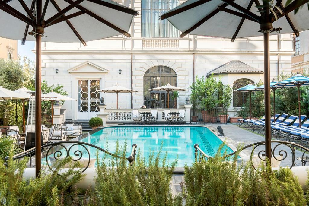 The swimming pool at or close to Palazzo Dama - Preferred Hotels & Resorts