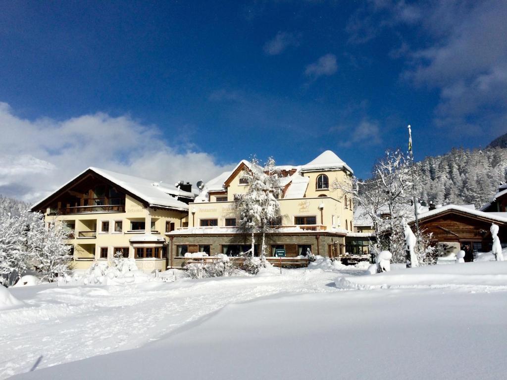 Hotel Bellavista during the winter