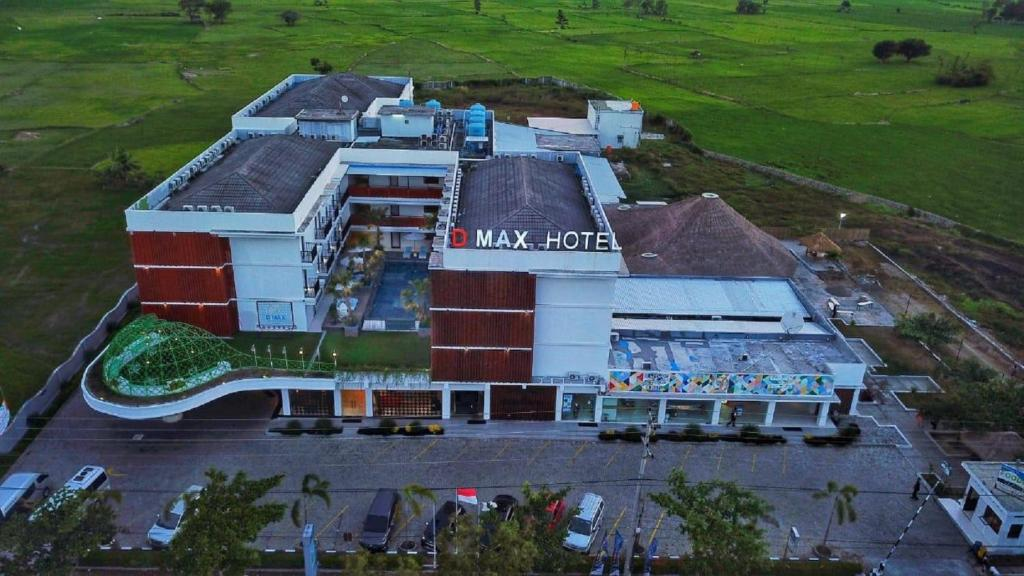 A bird's-eye view of D'MAX Hotel & Convention Lombok