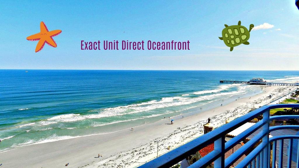 Ocean Walk 1107 - 1 BR Oceanfront