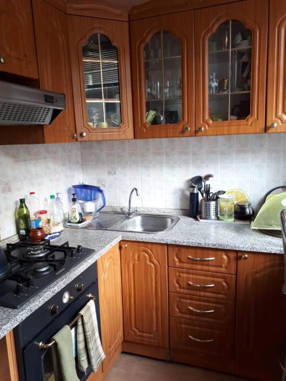 Кухня или мини-кухня в квартира