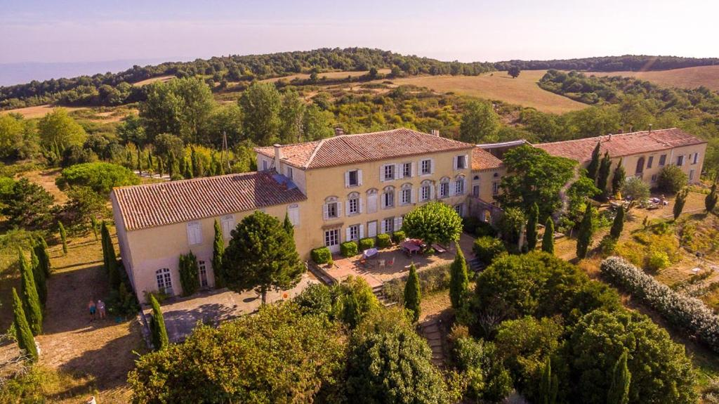 A bird's-eye view of Domaine des Jasses