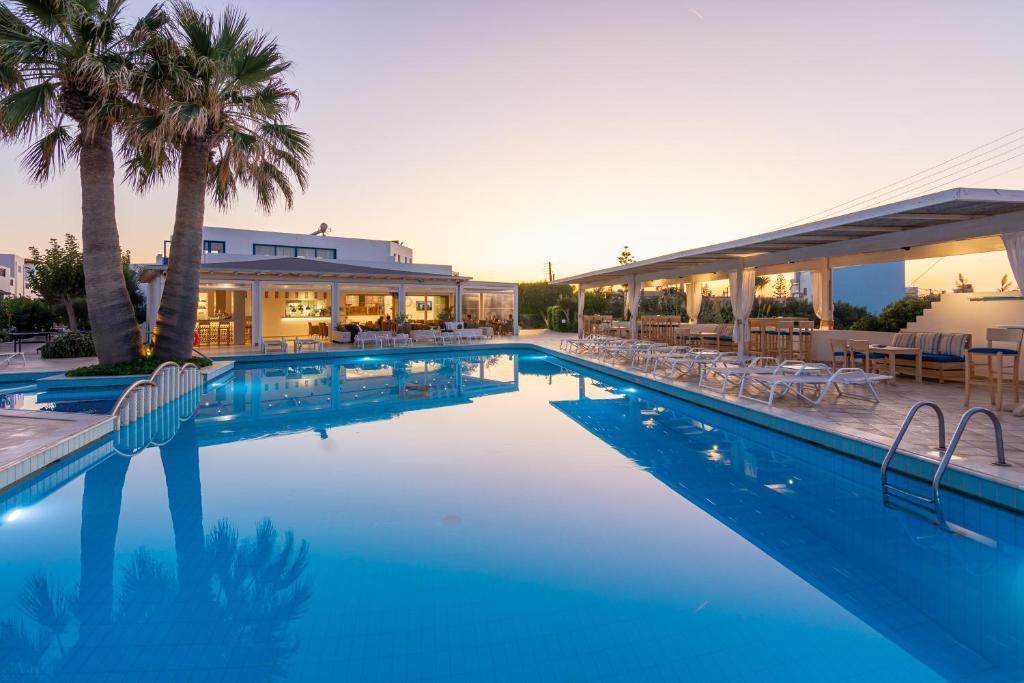The swimming pool at or near Hotel Hara Ilios Village