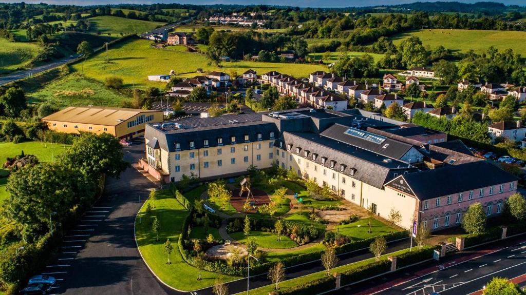 A bird's-eye view of Cavan Crystal Hotel