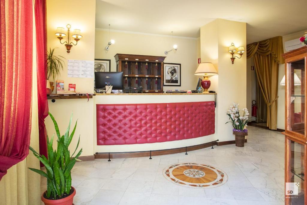 Hall o reception di Hotel Alessandro Della Spina