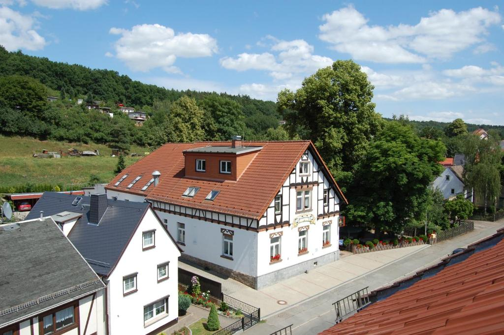 A bird's-eye view of Gasthof und Pension Frankenthal