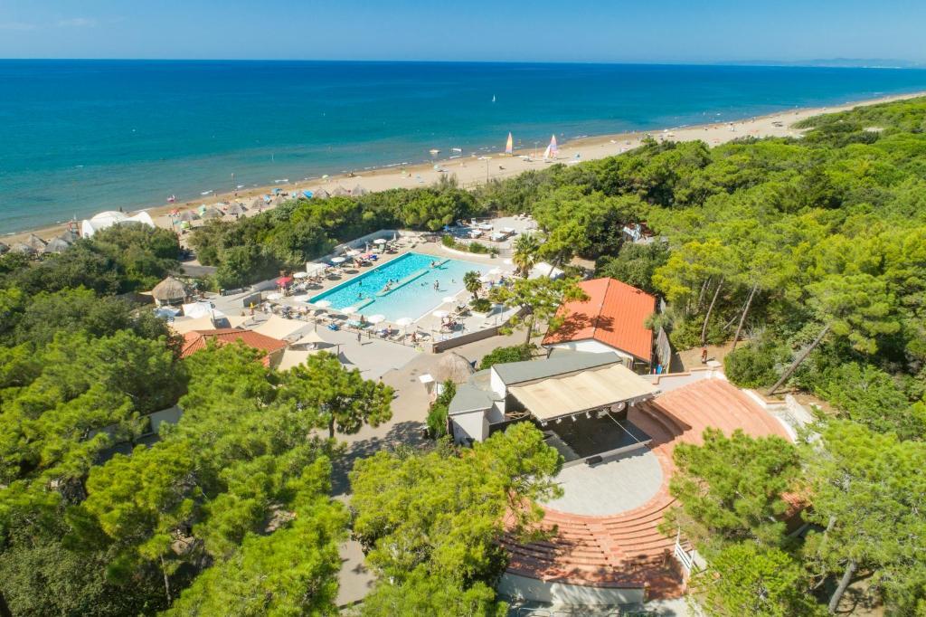 A bird's-eye view of Paradù EcoVillage & Resort