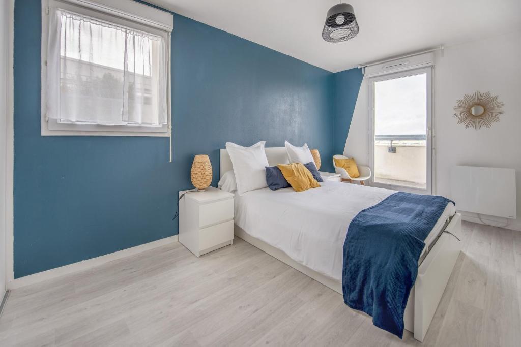 Bel appartement de 2 chambres à 40 min de Paris