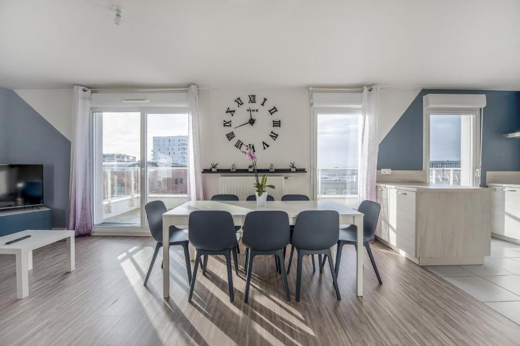 Bel appartement de 3 chambres à 40 minutes de Paris