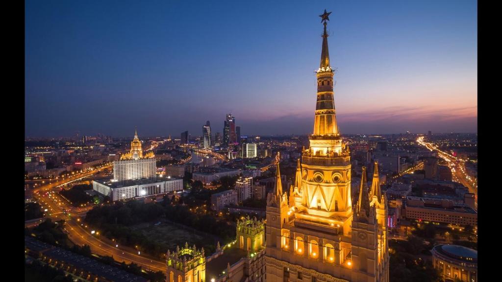 апартаменты kudrinskaya tower