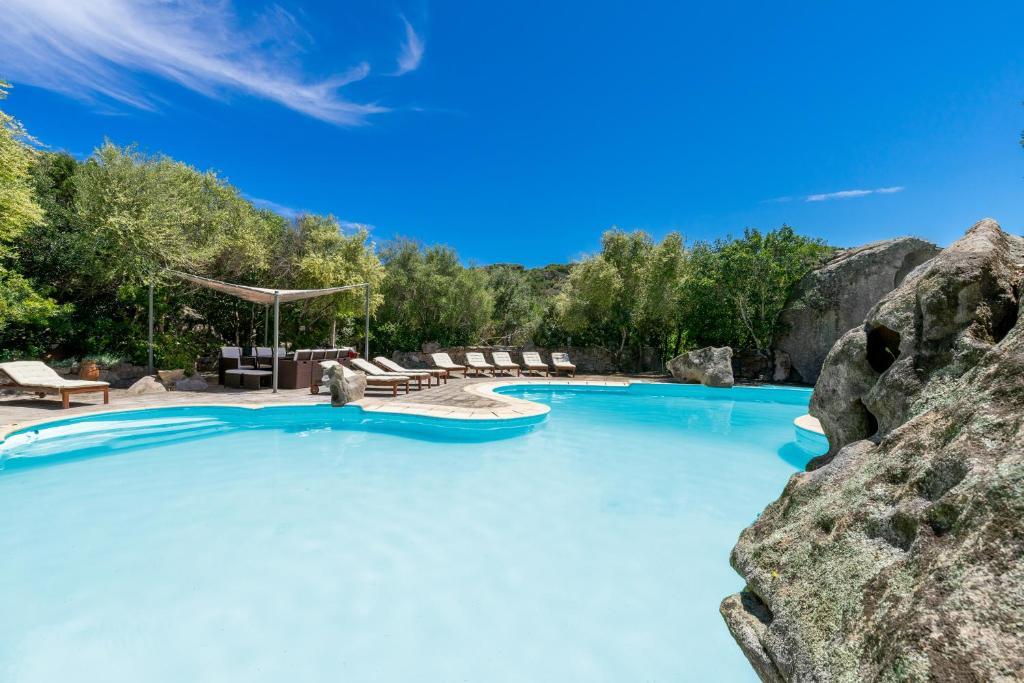 The swimming pool at or near Villa Roccia