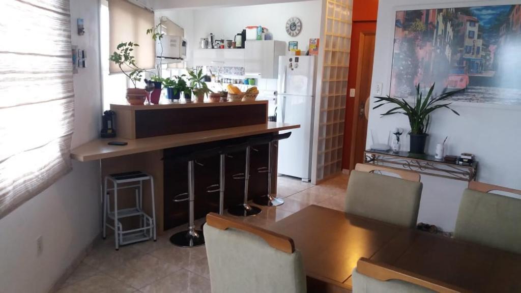 The lobby or reception area at Linda vista para o Guaíba