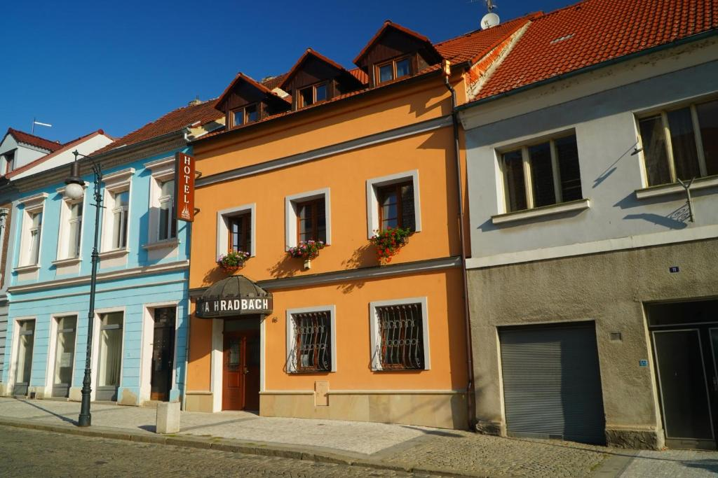Hotel Na Hradbach Louny, Czech Republic