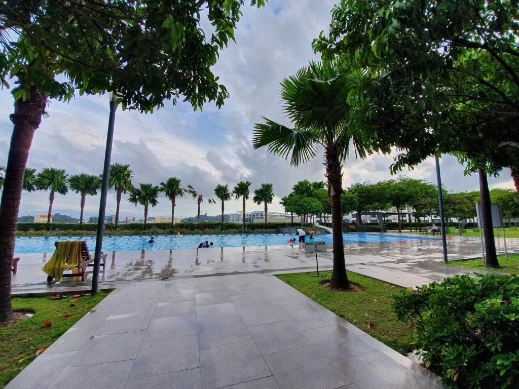 The swimming pool at or close to VK Condo @ IMAGO KK