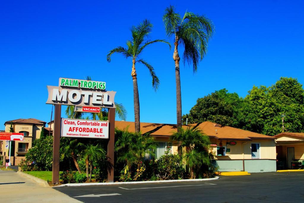 The Palm Tropics Motel.