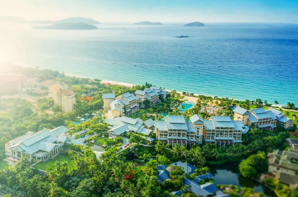A bird's-eye view of Hilton Sanya Yalong Bay Resort & Spa