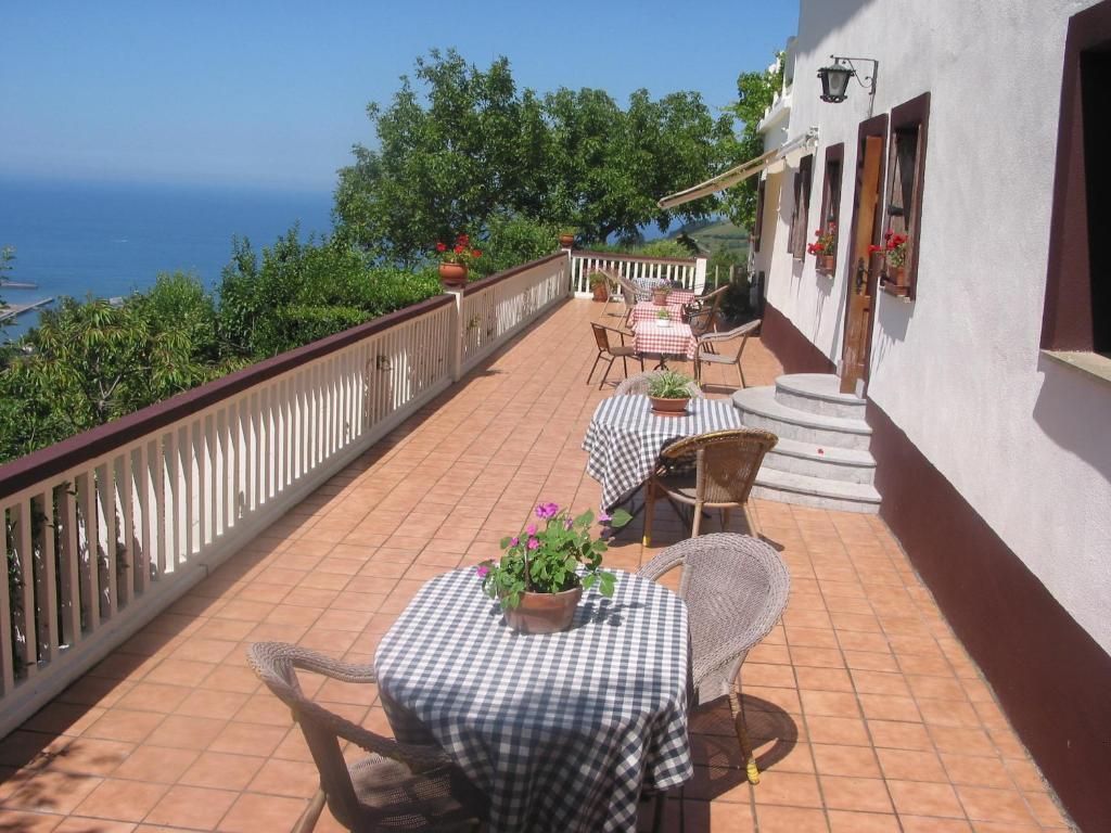 Un balcón o terraza de Arriola Txiki