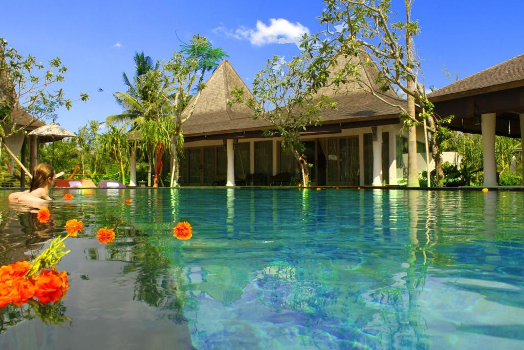 The swimming pool at or near Pandawas Ubud