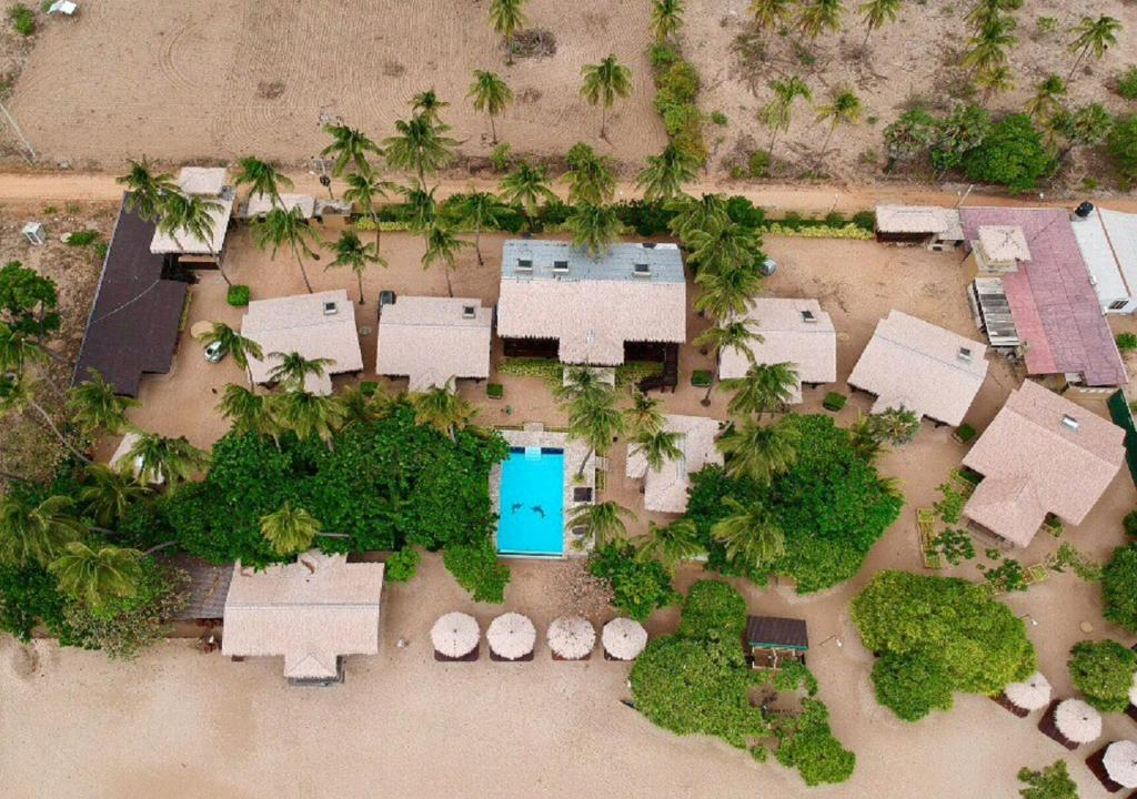 Nilaveli Beach Resort a vista de pájaro