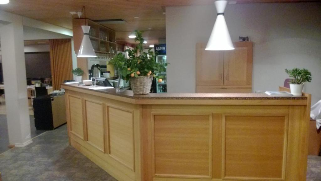 Lobbyn eller receptionsområdet på Juthbacka Hotell