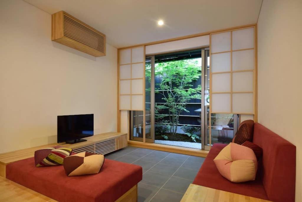 Machiya House SOWAKAにあるシーティングエリア
