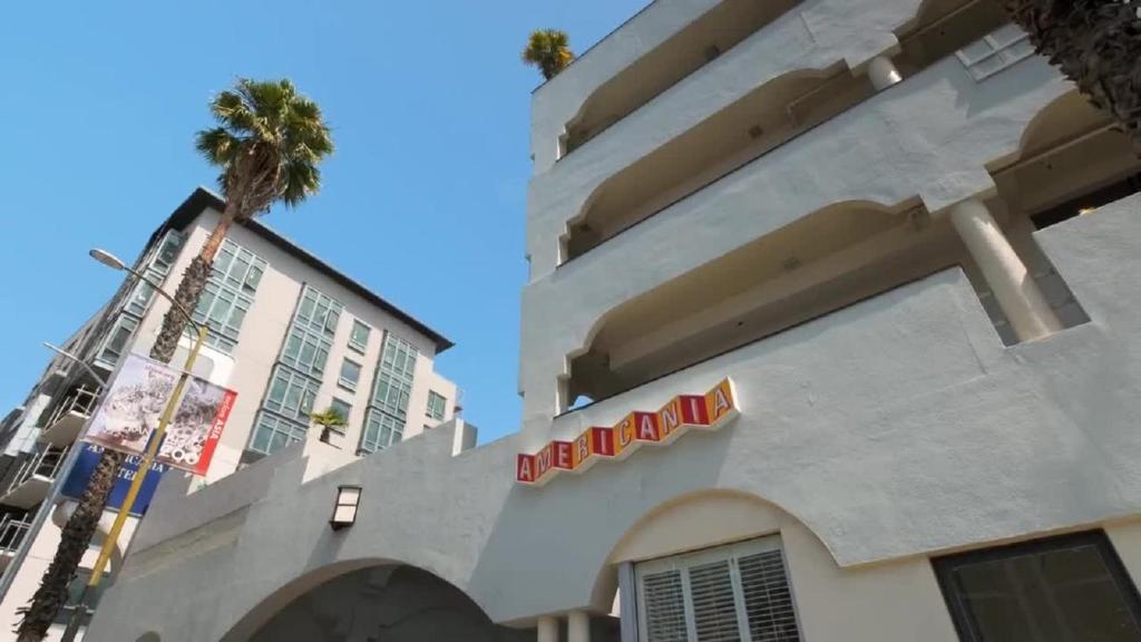 The Americania Hotel.