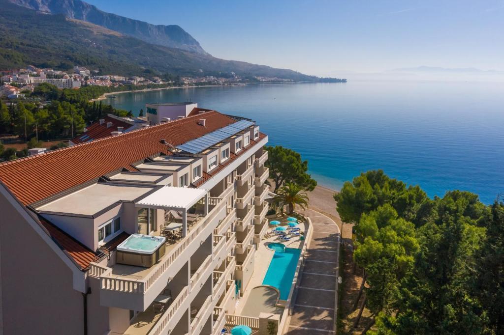 A bird's-eye view of Hotel Tamaris