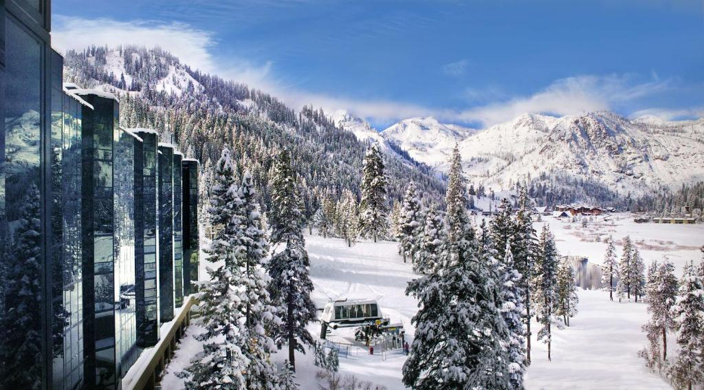 Resort at Squaw Creek, a Destination by Hyatt Residence during the winter