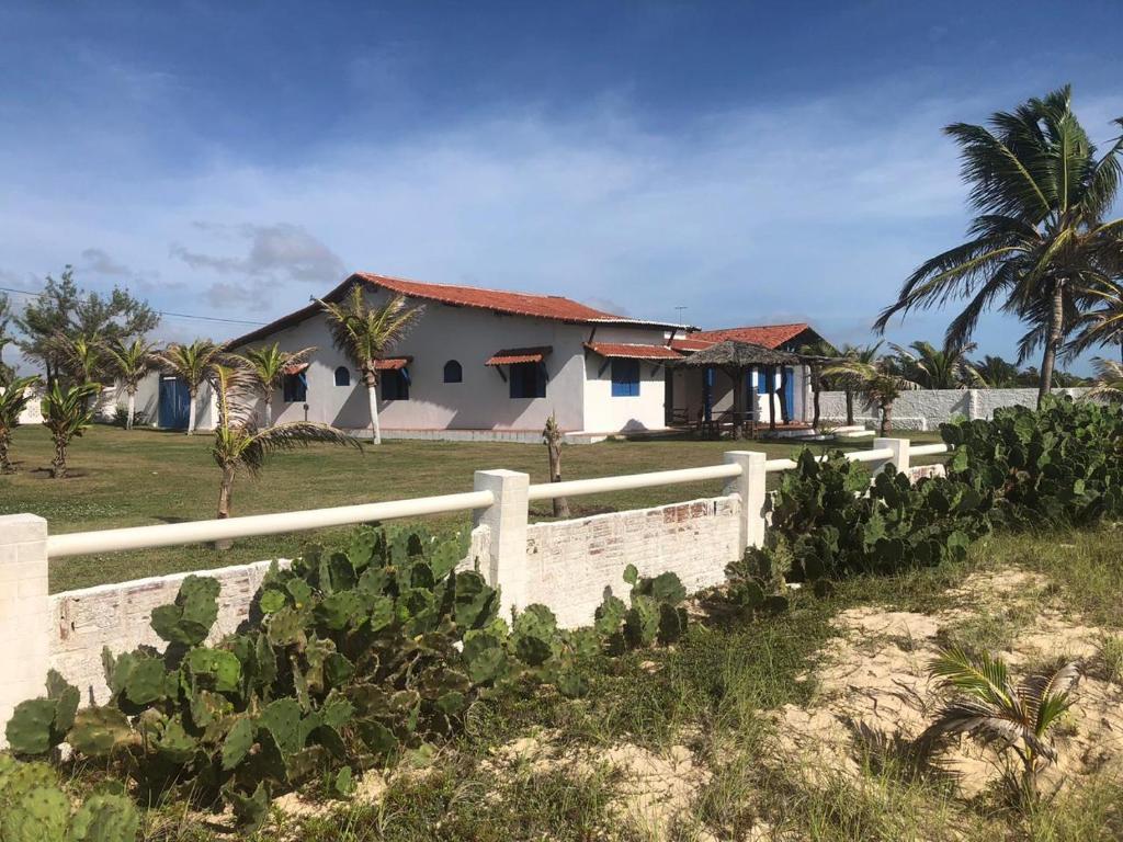 Casa de charme e aconchego a beira-mar em Graçandu RN