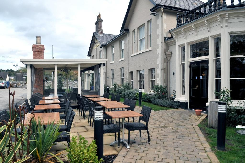 A restaurant or other place to eat at Talardy, St Asaph by Marston's Inns