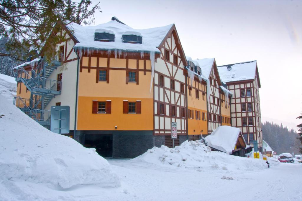 Apartmán Petra Clinic Javor during the winter