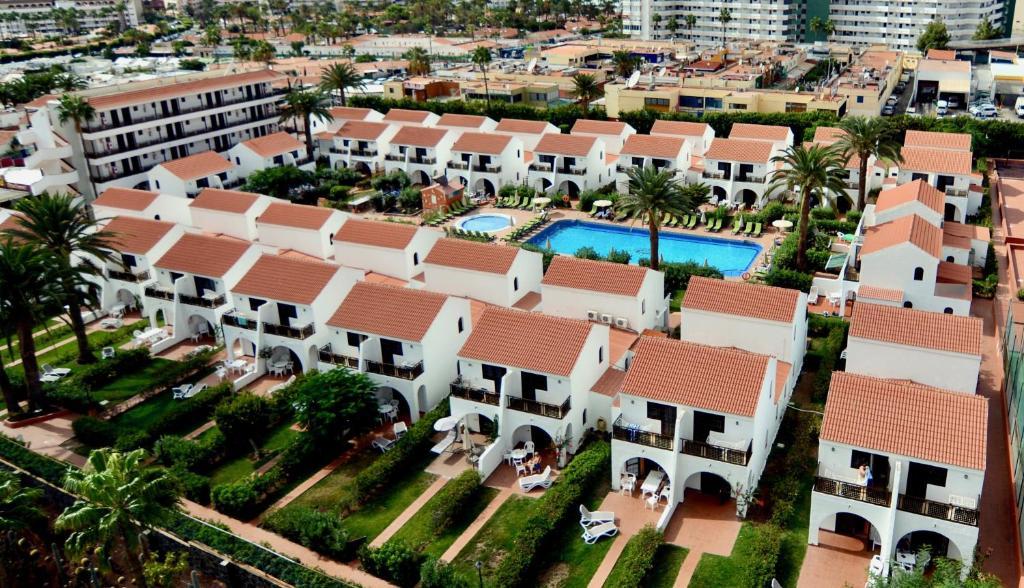 Een luchtfoto van Parquemar