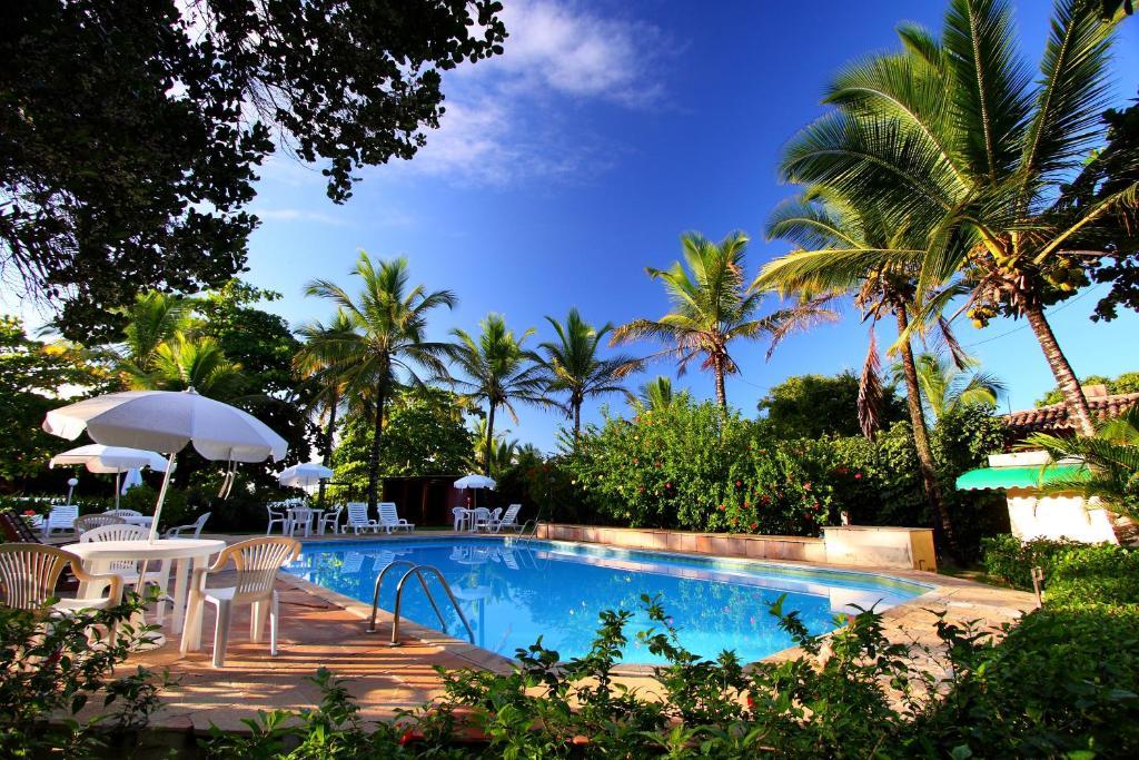 The swimming pool at or near Canto d Alvorada Hotel Pousada