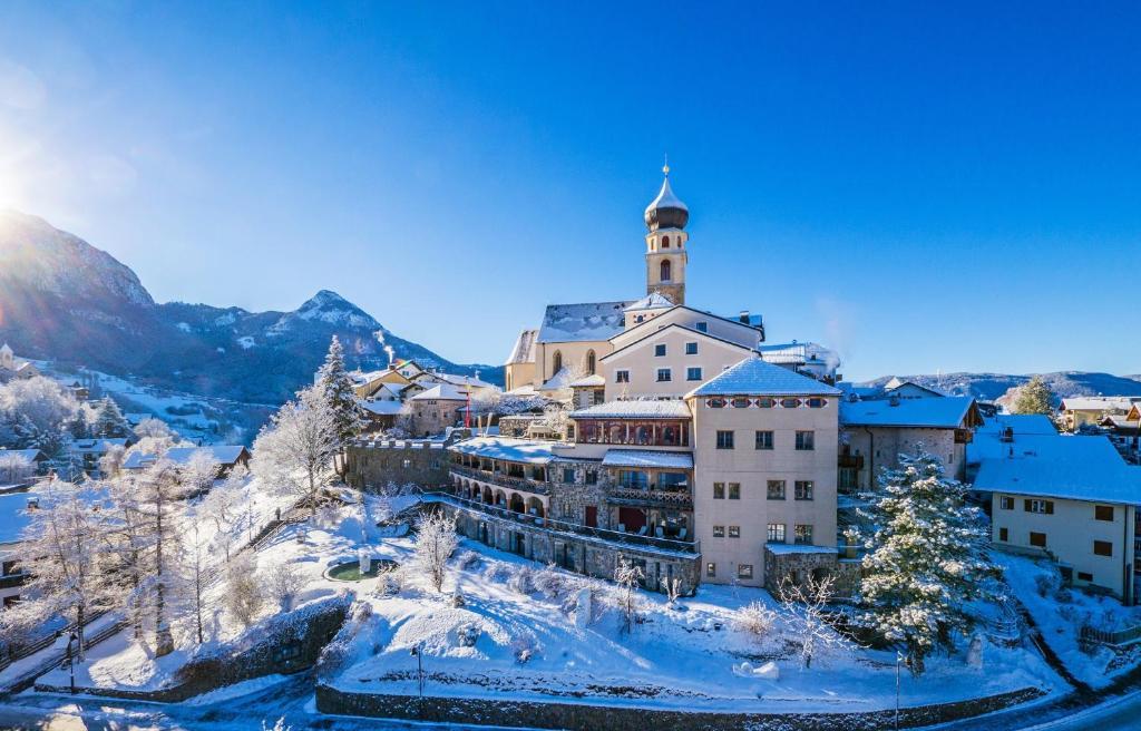 Romantik Hotel Turm im Winter