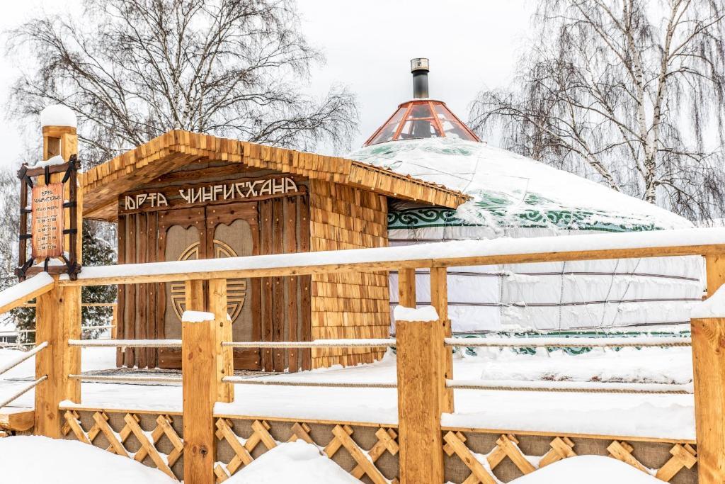 WHISKY ACADEMY гостевой дом зимой