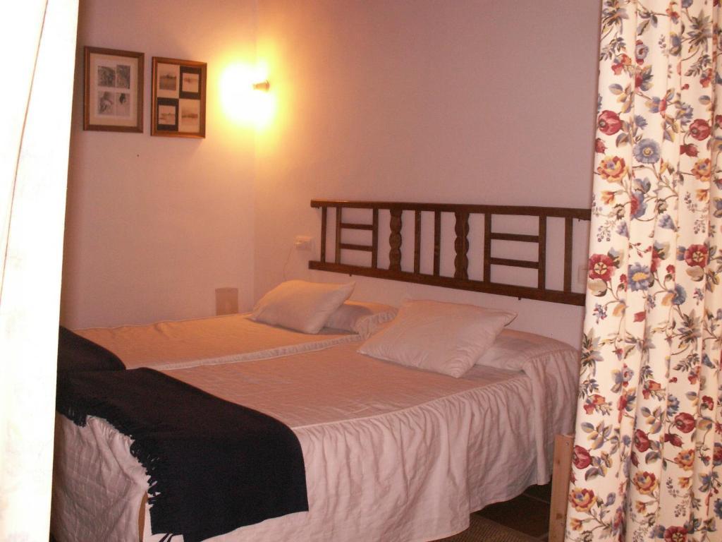Cama o camas de una habitación en Casa Rural Riscos Altos