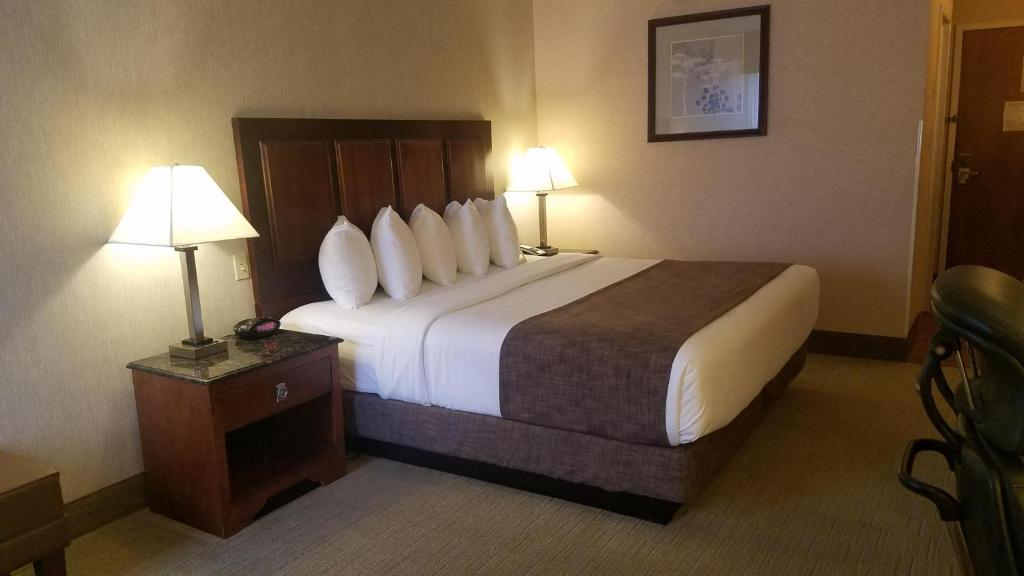 A bed or beds in a room at Best Western Staunton Inn
